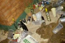 """Megaoperativo policial desbarató una """"previa"""" . Había menores y mucho alcohol"""