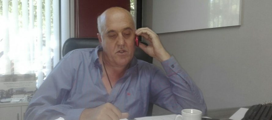 """Inseguridad: Chiocarello aclaró  que la reunión del domingo era """"con las fuerzas vivas"""""""