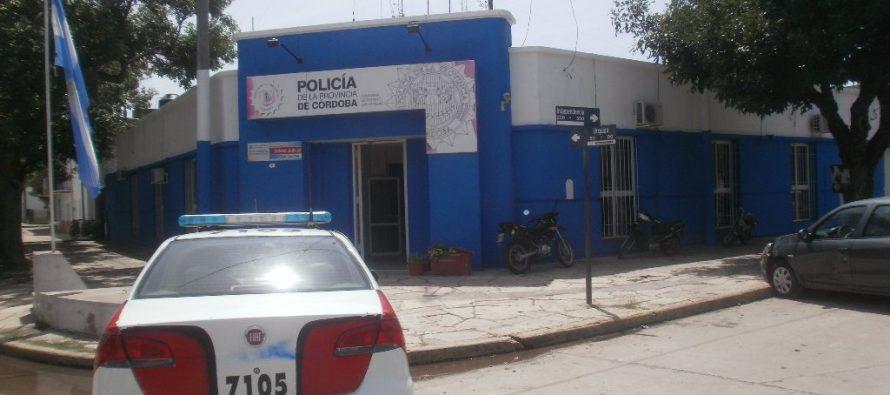 Persecución por calles de la ciudad y detención de dos menores