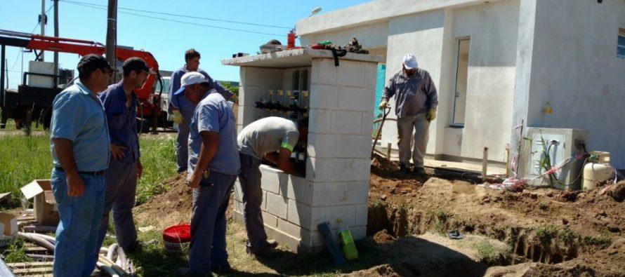 Trabajos de la Cooperativa en Barrio Alfonsín