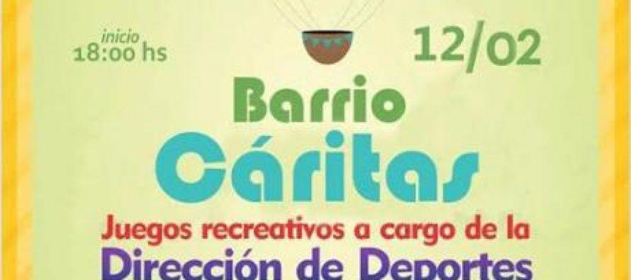 Segundo Mi Barrio Crea del año, esta vez en Bo. Cáritas
