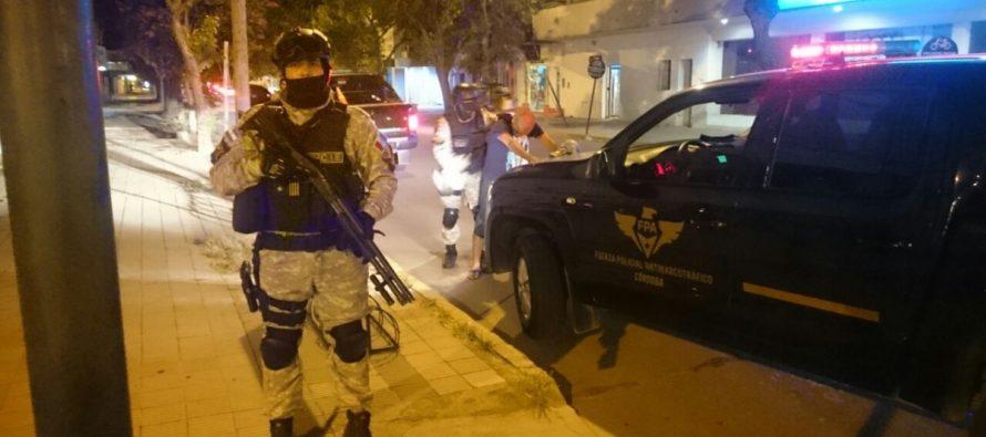 La Fuerza Provincial Antinarcotráfico realizó controles en Las Varillas