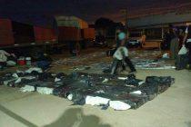 Policía Federal Argentina secuestró una gran cantidad de marihuana en S. M. Laspiur