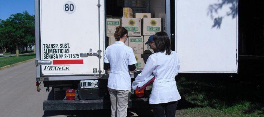 Bromatología releva con inspectoras el ingreso de sustancias alimenticias a la ciudad