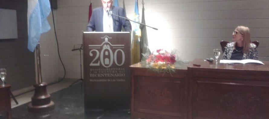 Con pocos anuncios, Chiocarello inauguró el período legislativo