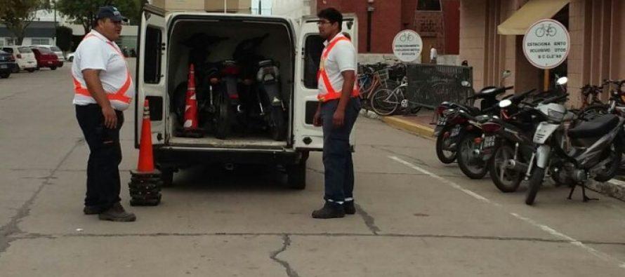 La Policía Municipal resguardó  motos sin patentes