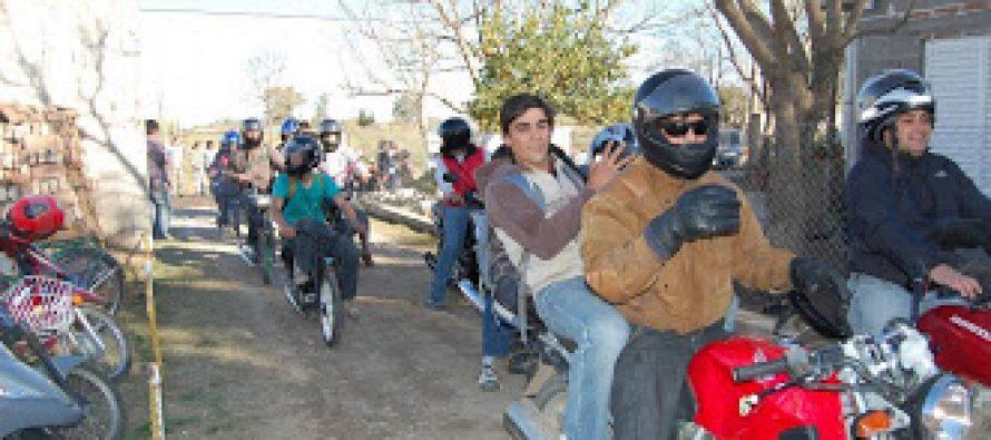 Malestar de motociclistas por posible sanción de una ley