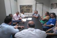 Por la obra de pavimento, Chiocarello recibió a vecinos de Bº Alta Córdoba