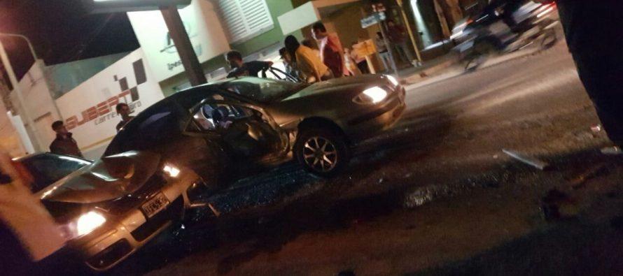 Accidente con un herido grave y dos robos de motos
