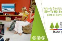 Los vecinos de Barrio Alfonsín  podrán contar con Internet y TV Cooperativa