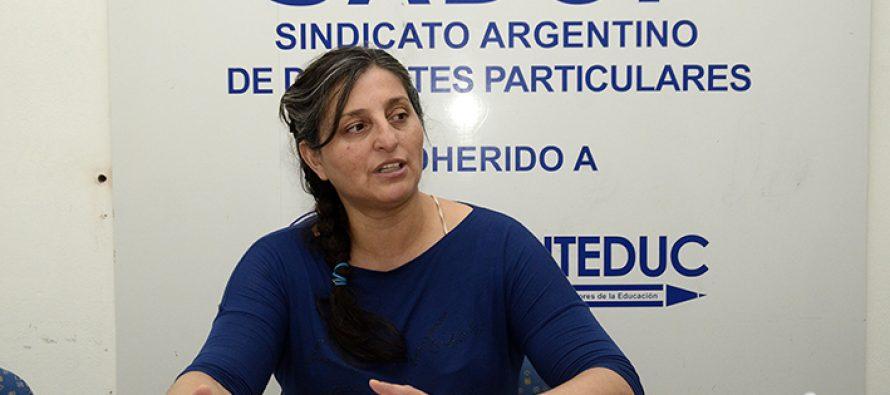"""El SADOP, denunció un despido """"por razones políticas"""" en un colegio de Las Varillas"""
