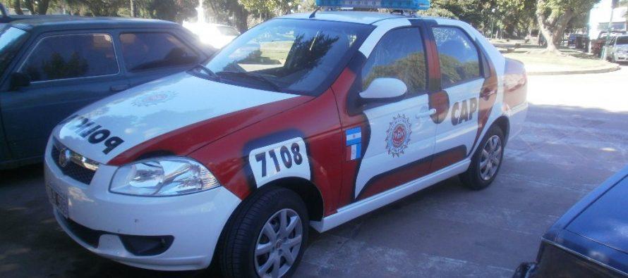 Procedimientos policiales en Laspiur y Sacanta