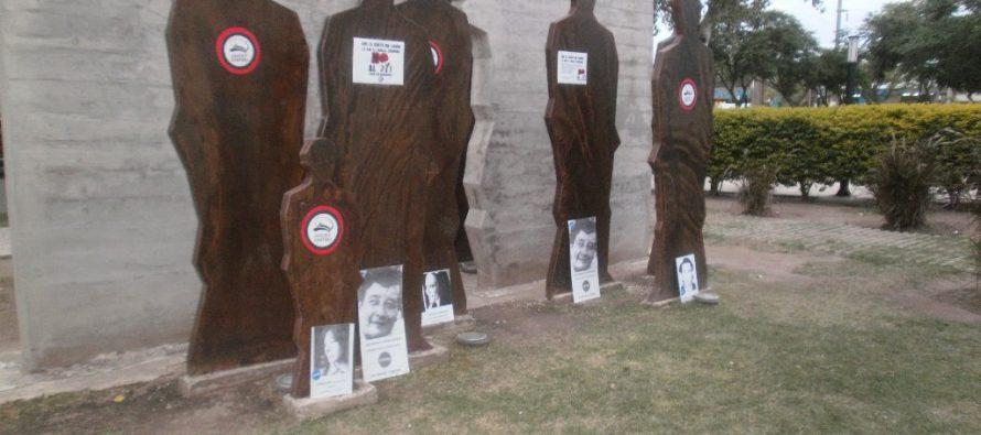 """En Las Varillas también manifestaron contra el """"2 x 1"""""""