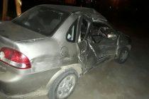 Accidente  en la Ruta 13, un  herido