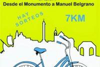La Municipalidad organiza Bicicleteada Familiar para este sábado