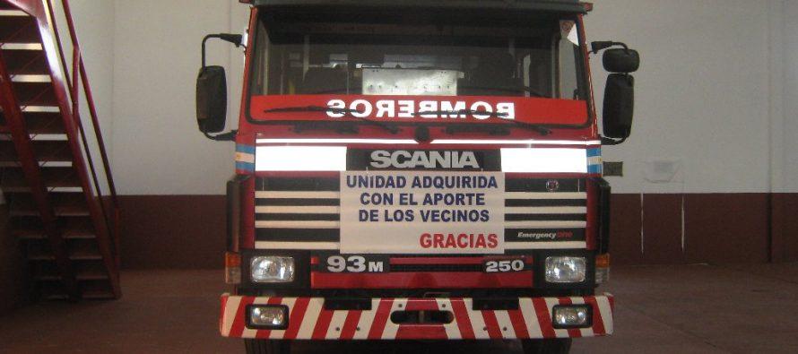 Trabajo extra para bomberos en día feriado