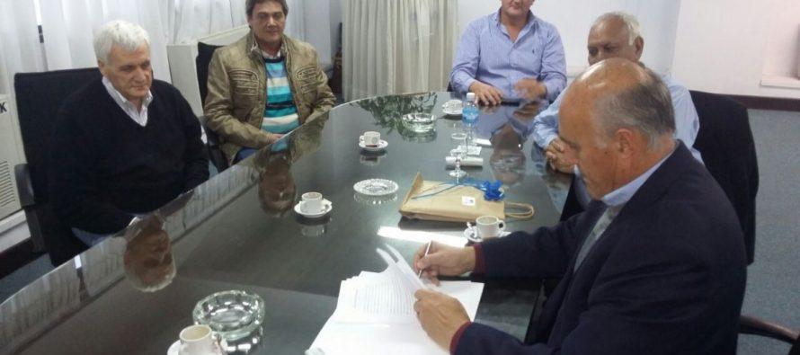 Chiocarello se reunió con el Secretario General de los Metalúrgicos