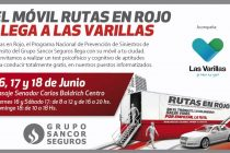Seguridad Vial: el Móvil Rutas en Rojo llegará a Las Varillas