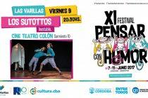 """Viernes, función del ciclo """"Pensar con Humor"""" en el Teatro Colón"""