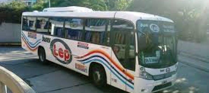 El martes Buses LEP comenzó a cubrir el corredor de transporte de la Ruta 158