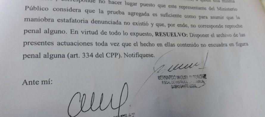La Justicia desestimó una denuncia contra el abogado Bertorello por un presunto intento de estafa