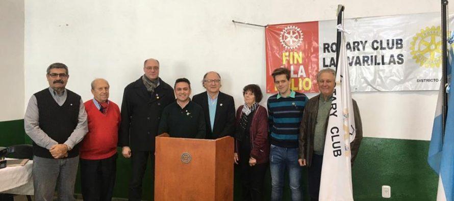 Claudio Deálbera es el nuevo presidente del Rotary Club Las Varillas