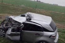 Accidente fatal en la Ruta 13, un muerto luego de un choque frontal