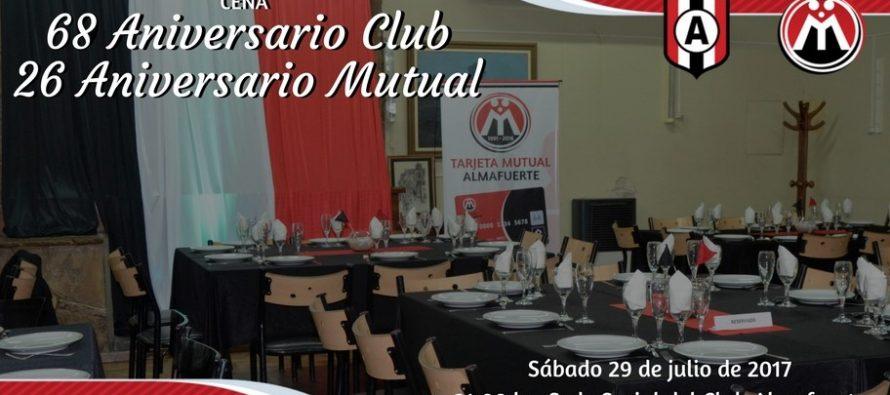 Cena Aniversario del Club Almafuerte y la Mutual Tricolor