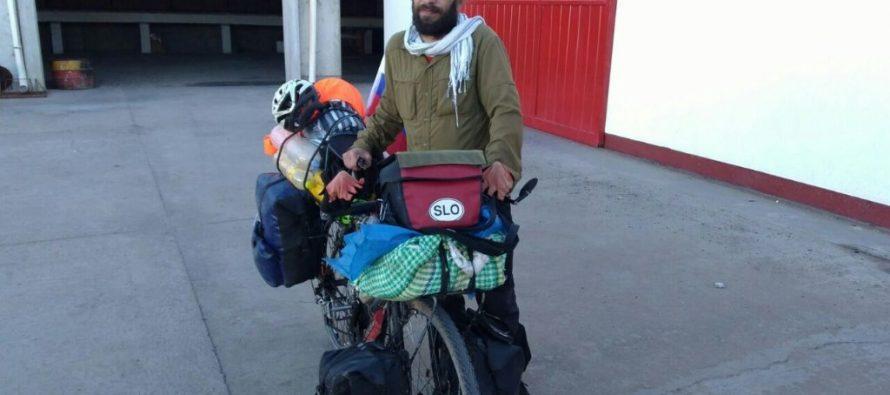Nueve mil kilómetros en bicicleta