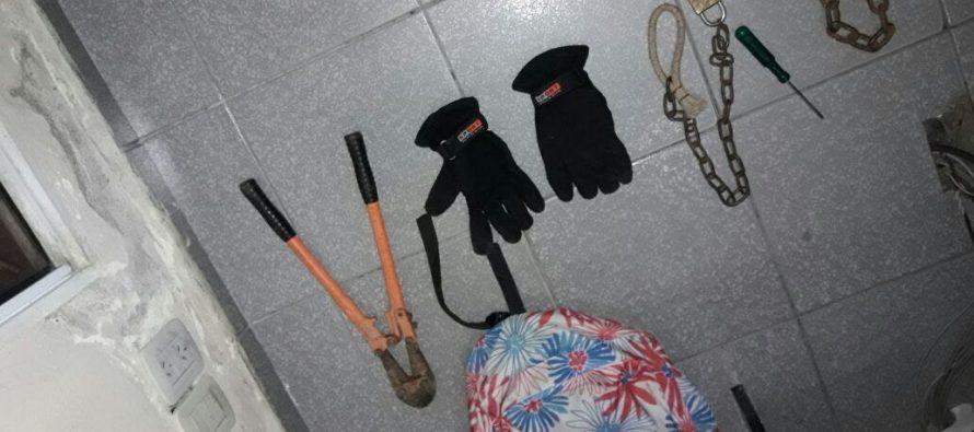 "Secuestran verdadero ""kit"" para robar"