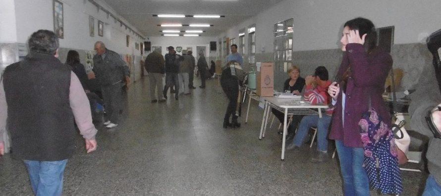 A las 16 horas lleva votado aproximadamente el 60% del padrón