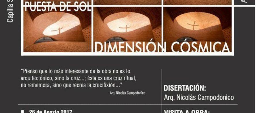 Nicolás Campodónico disertará en Las Varillas
