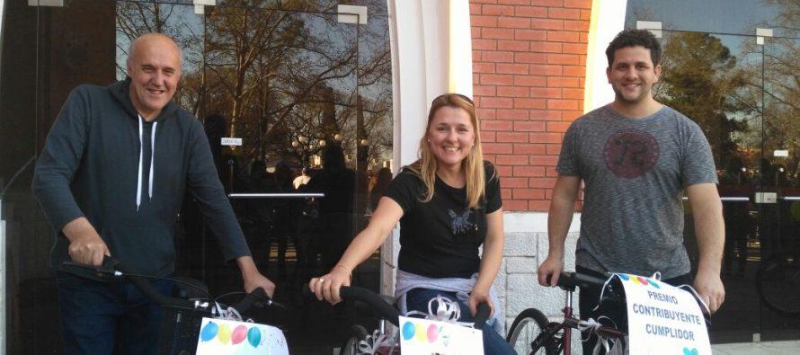 Sorteo de Bicicletas para Contribuyentes Cumplidores