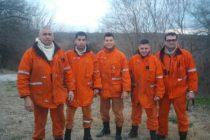 Bomberos de Las Varillas trabajan en la zona serrana por incendios