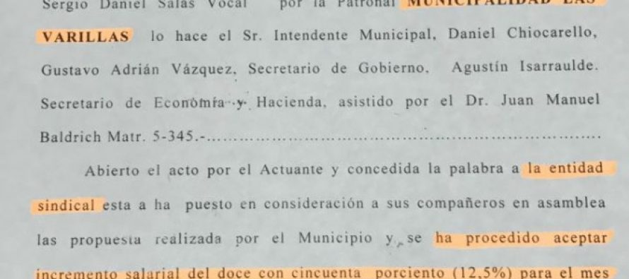 La Municipalidad advierte que descontará los días no trabajados por sus empleados