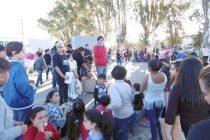 Comedores y Merenderos de la ciudad festejaron el Día del Niño en el Anfiteatro