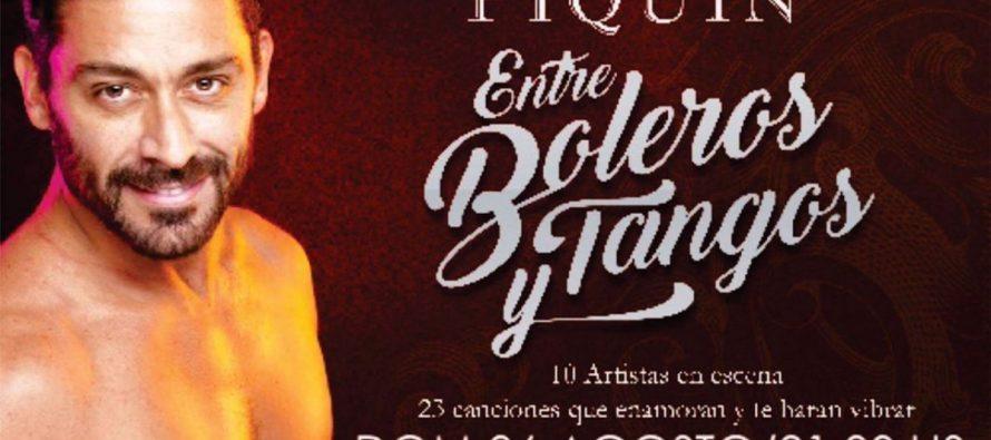 """Este Domingo, Hernán  Piquín presenta """"Entre Tangos y Boleros"""""""
