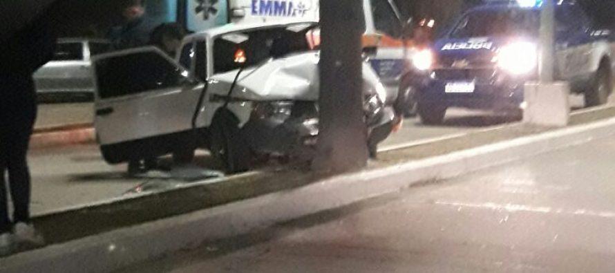 Dos accidentes con lesiones graves y un detenido por intento de agresión.