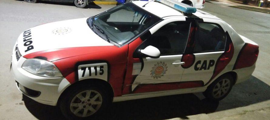 Domingo con una persona hallada sin vida, dos robos y un accidente con un móvil policial