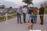Inauguraron adoquinado de la Avenida Centenario