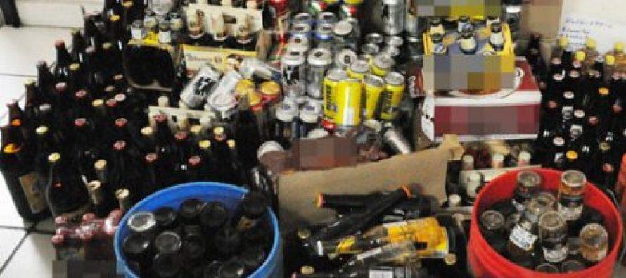 Decomiso de bebidas en Operativo Primavera Sin Alcohol