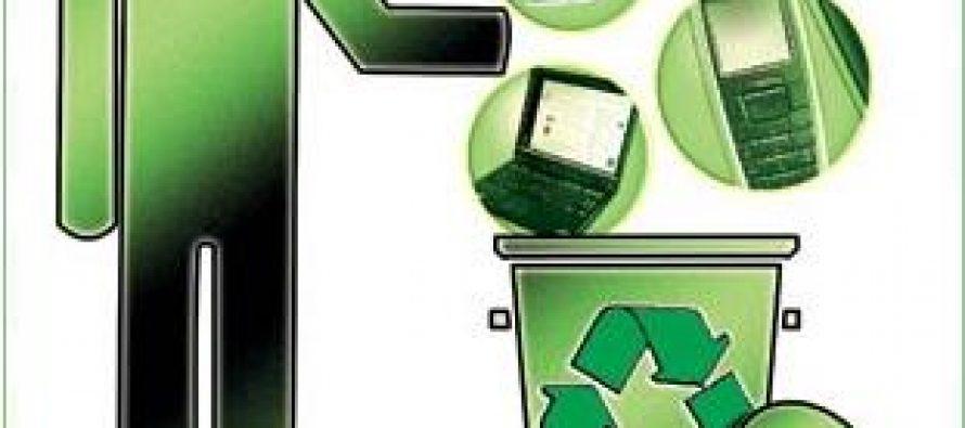 Nueva campaña de recolección de residuos de aparatos electrónicos y eléctricos