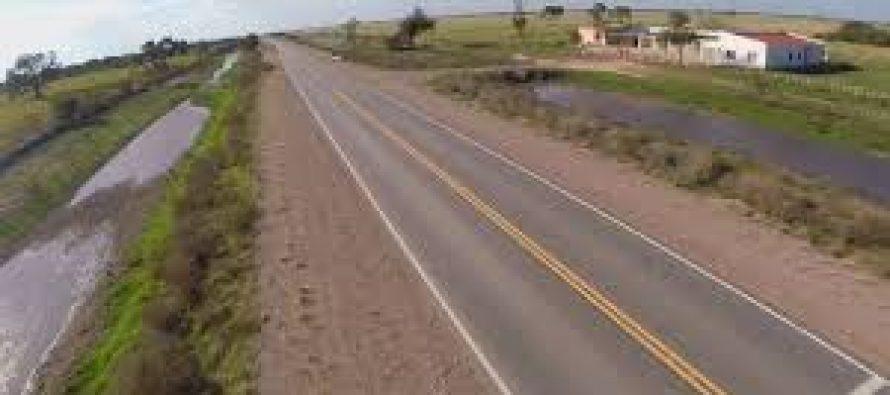 Trágico accidente en la Ruta 3. Murió un octogenario