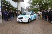 Con un auto y otros elementos, refuerzan la Policía Municipal