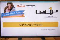 Mónica Césere fue la ganadora de sorteo Día de la Madre del CeCIP