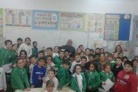 Alumnos de la Escuela Vélez Sársfield trabajaron sobre un proyecto de tratamiento de residuos