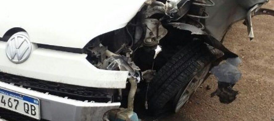 Otro choque en la Ruta 13. Tampoco habría  lesiones graves