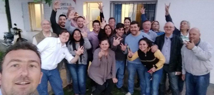 """Cambiemos Las Varillas: """"la gente votó  un proyecto nacional"""""""