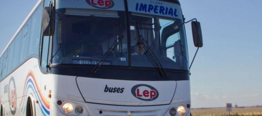 """""""Buses Lep"""" dispondrá de un recorrido diario  hasta Buenos Aires."""
