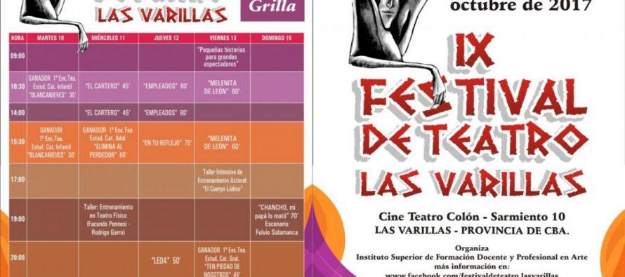 Comienza el IX Festival de Teatro Las Varillas